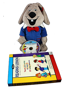 Giggle Bunny with small Reading Lesson package